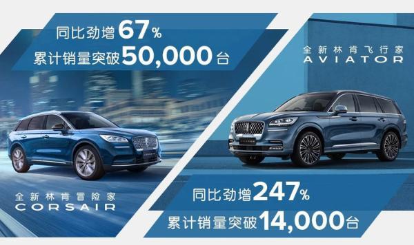 林肯中国5月销量公布 月销突破8000台 冒险家月销量创新纪录
