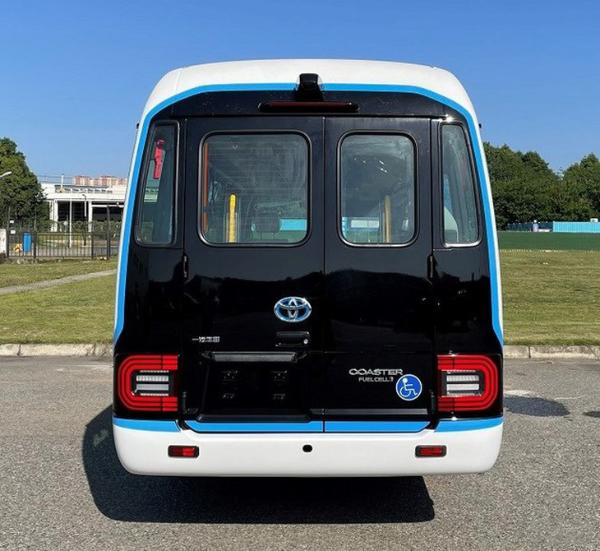 搭载比亚迪电池 国产丰田氢燃料电池车曝光