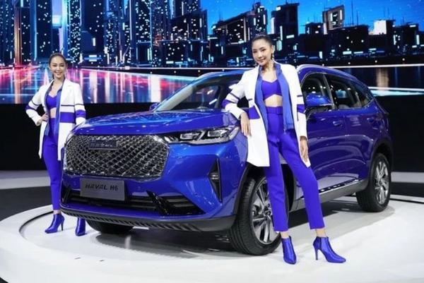 第三代哈弗H6混合动力汽车在泰国上市以来 价格约为25万元