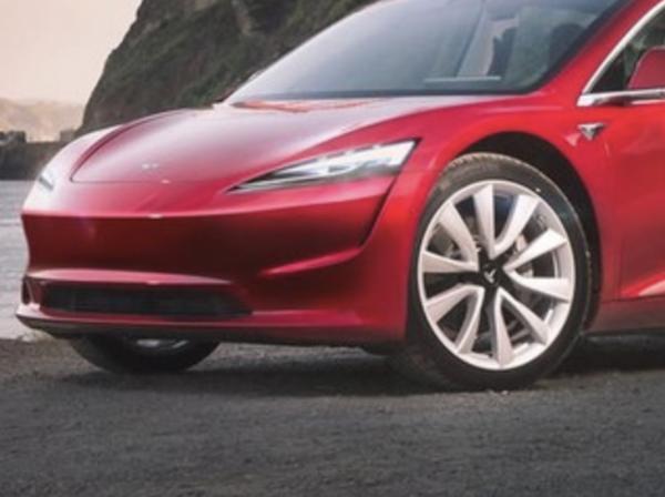 特斯拉全新轿车的渲染图曝光 预计售价16万元人民币