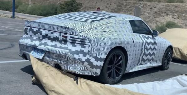 日产Z Proto量产版车型谍照曝光 将于8月17日正式亮相