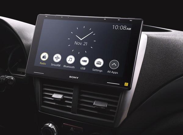 索尼电子公司推出全新车载媒体接收器XAV-9500ES