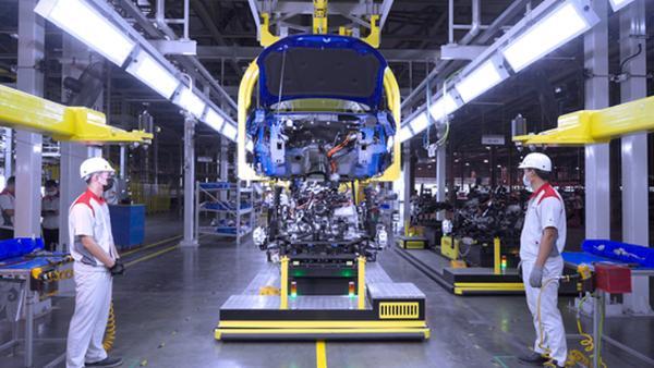 长城汽车泰国罗勇工厂正式投产 首款车哈弗H6 HEV即将上市