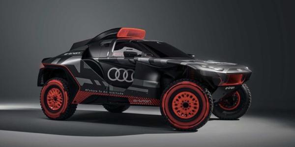 红黑配色炫酷外形加持 奥迪RS Q e-tron将亮相达喀尔拉力赛
