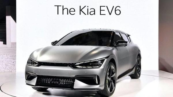 起亚EV6官图发布 充电4.5分钟即能增加100km的续航里程