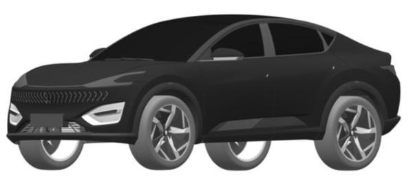 恒驰6专利图曝光 定位紧凑型SUV