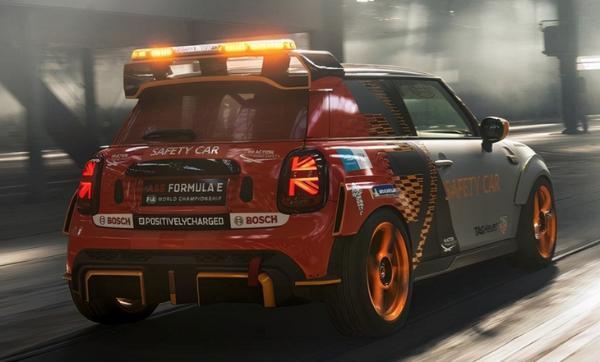 赛道风格超强性能 MINI纯电特别版亮相