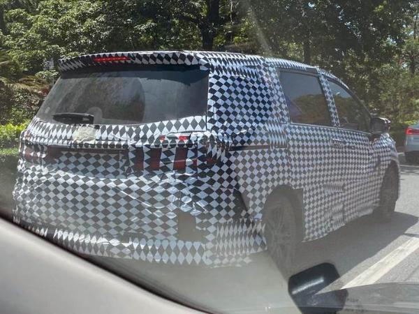 新款本田奥德赛测试车谍照曝光 搭2.0L自吸发动机