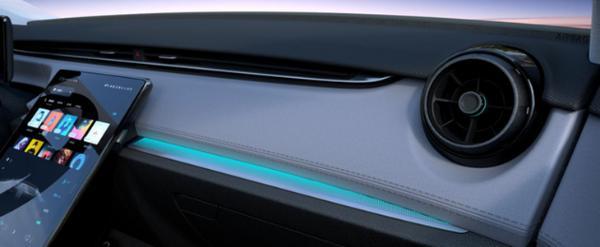 天际ME5内饰官图曝光 搭配14.8英寸悬浮式液晶屏