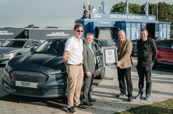 福特野马Mach-E电动汽车的效率达到6.54英里/千瓦时 创吉尼斯世界纪录
