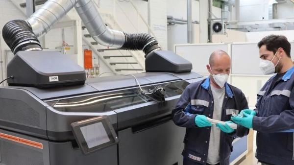 大众开始测试用3D打印生产结构件
