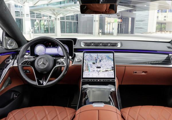 梅赛德斯—迈巴赫全新S580L实拍图曝光 明年初国内开售