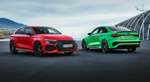 全新一代奥迪RS 3官图发布 零百加速3.8s内
