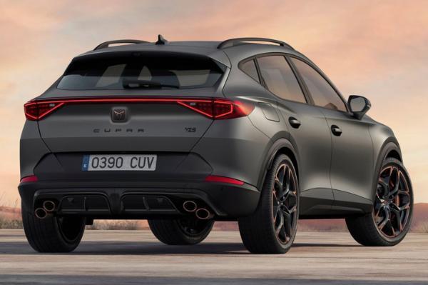 搭载五缸发动机 西雅特旗下Cupra全新高性能SUV官图亮相