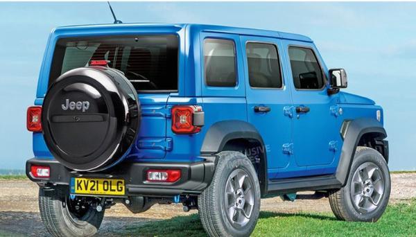 硬派Jeep全新SUV假想图 2025年正式亮相