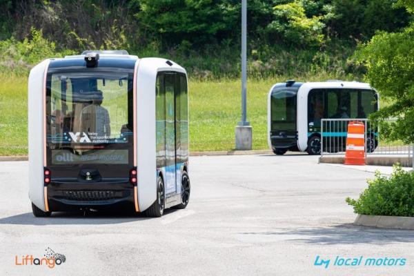 Local Motors合作Liftango 为自动驾驶车打造车队管理与按需软件