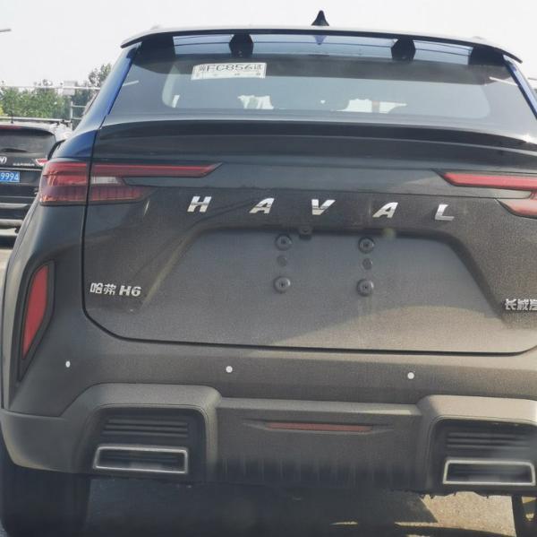 疑似全新哈弗H6 Coupe测试谍照曝光 尾部设计异常夸张
