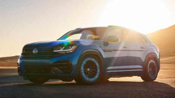 大众Atlas Cross Sport GT概念车官图发布 第三款官改概念车