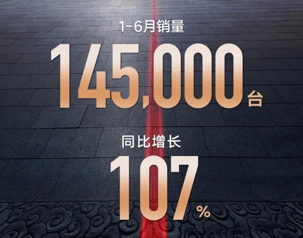 同比增长107% 红旗2021年上半年销量达到14.5万辆