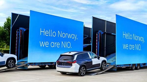 """""""攻势""""开启,首批蔚来ES8正式运往挪威"""