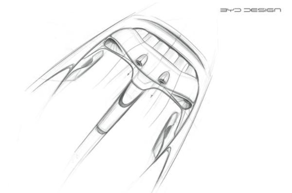 比亚迪海豚内饰设计图曝光 将于三季度正式上市