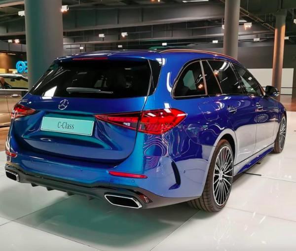 国产可能性低 全新奔驰C级旅行版最新实车图公布