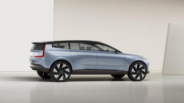 沃尔沃RECHARGE概念车正式发布 量产版2022年上市