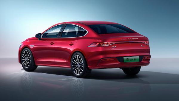 比亚迪秦PLUS EV推出2款新增车型 售价16.98万元起