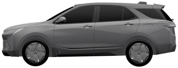 雪佛兰全新SUV车型专利图曝光 科技色彩十足