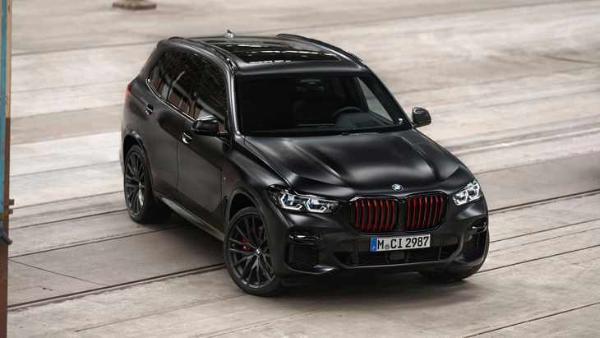 宝马X5特别版官图发布 采用专属黑色车漆 限量发售