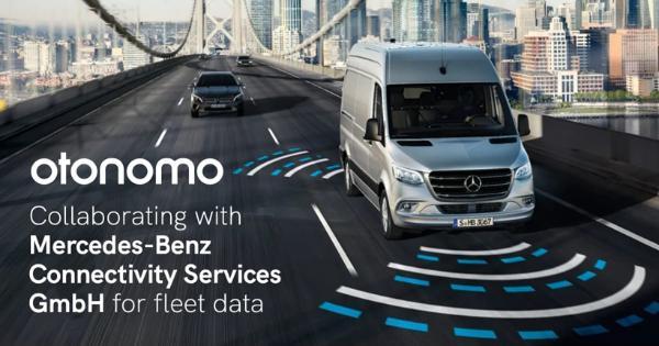 Otonomo与梅赛德斯-奔驰互联服务公司合作 为车队提供互联数据