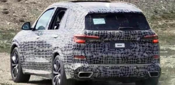 国产宝马X5长轴版谍照曝光 预计明年4月投产
