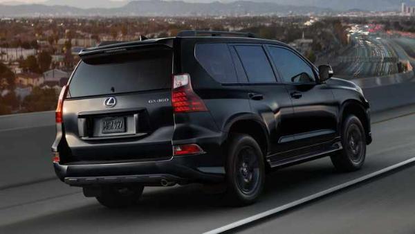 新款雷克萨斯GX官图发布 新增Black Line车型 或2024年换代