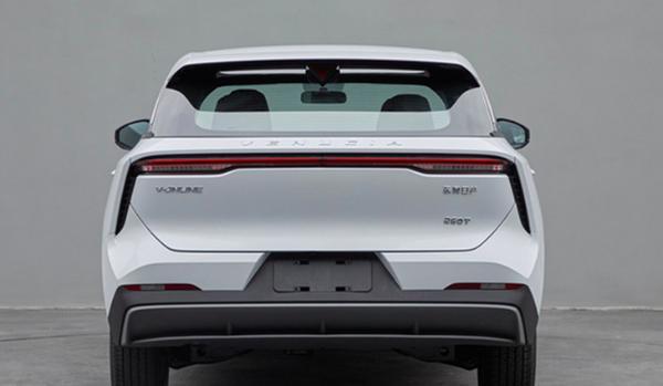 启辰全新SUV实车曝光 采用家族化设计 预计年内上市