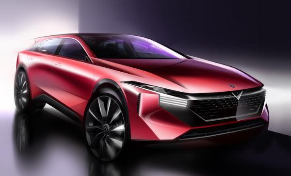 启辰全新SUV设计图曝光 或定名V-ONLINE