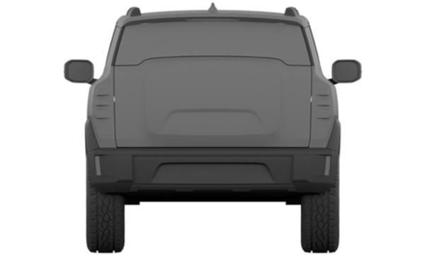 哈弗X DOG量产版曝光 造型设计硬派 配隐藏车门把手