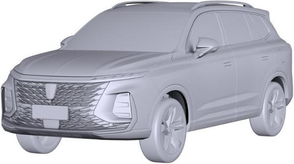 荣威全新SUV专利图曝光 或为全新一代荣威RC5