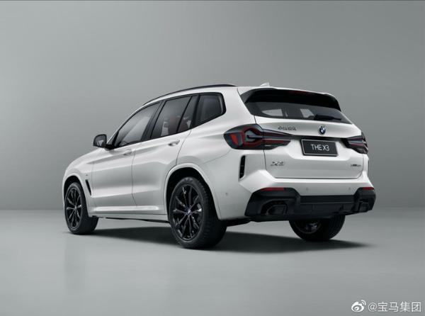 中期改款宝马X3正式上市 3款车型 售价39.28万元起