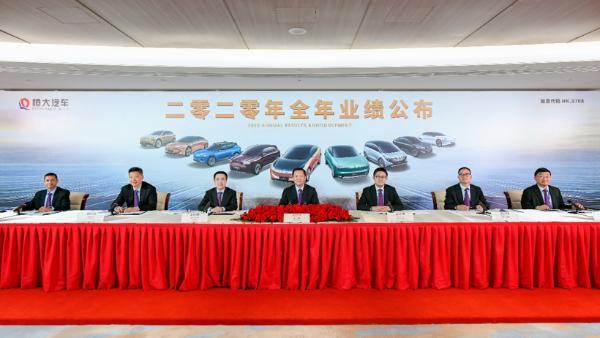 中国恒大:或出售旗下部分资产,包括但不限于恒大汽车