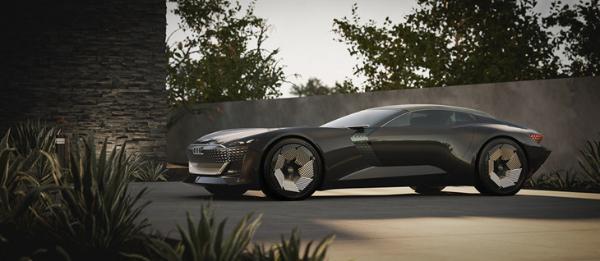 """奥迪全新概念跑车发布 当""""蝙蝠车""""来到现实"""