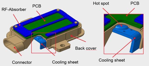 朗盛开发汽车雷达传感器新概念 具有集成热管理功能