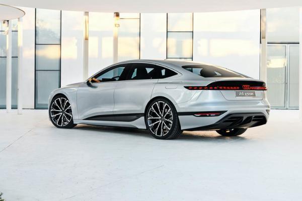 奥迪A6 e-tron量产版有望于2022年首发 4秒内破百