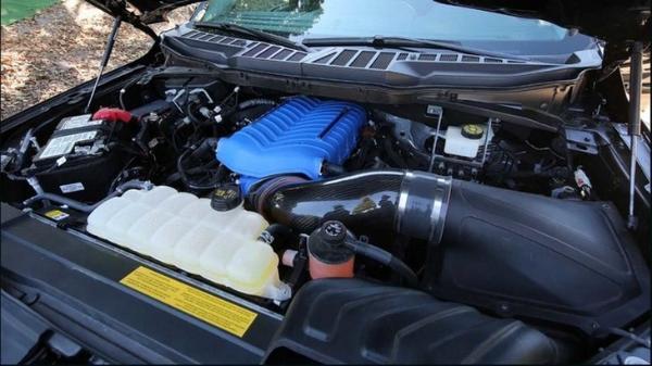 最大马力775匹,谢尔比官方发布全新F-150谢尔比低底盘公路版