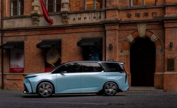 上汽大通MAXUS MIFA量产车预告图 将于下半年发布