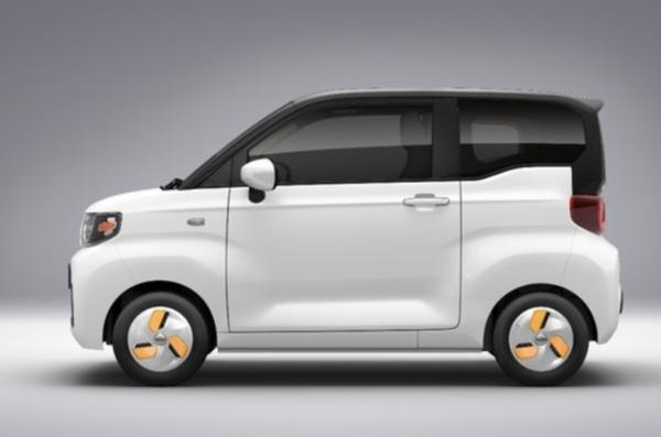 奇瑞QQ冰淇淋官图发布 成都车展亮相/对标车型五菱宏光MINI EV