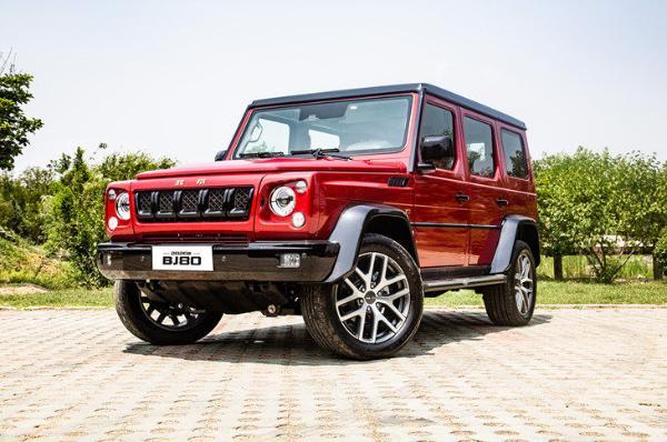 北京BJ80新增车型上市 售价区间为35.99-43.80万元