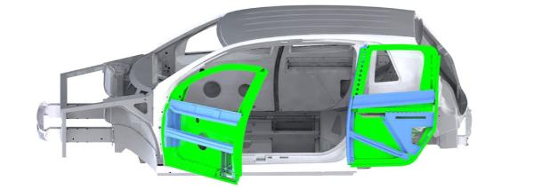 本特勒公司推出创新无B柱车门概念 更轻便、更安全