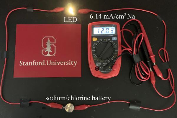 研究人员开发出新型可充电电池 储存电量为当前电池的6倍