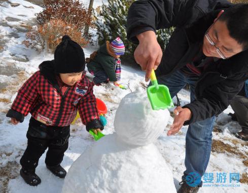 冬天带孩子出门玩雪?这些东西要提前准备好