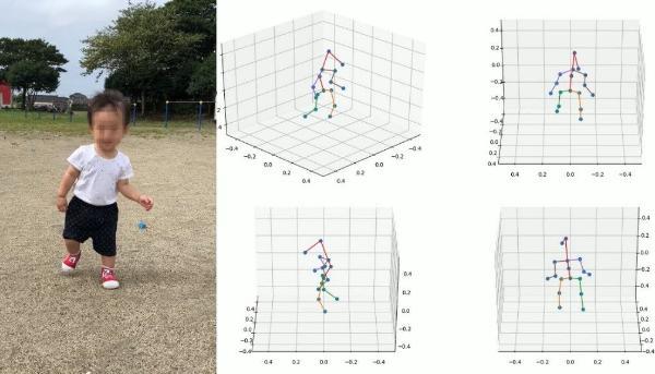 花王开发出通过手机拍摄视频即可详细解析行走动作的技术